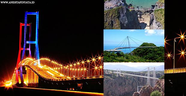 7 Jembatan Yang Berbahaya Di Dunia, Yang Terakhir Sangat KEREN