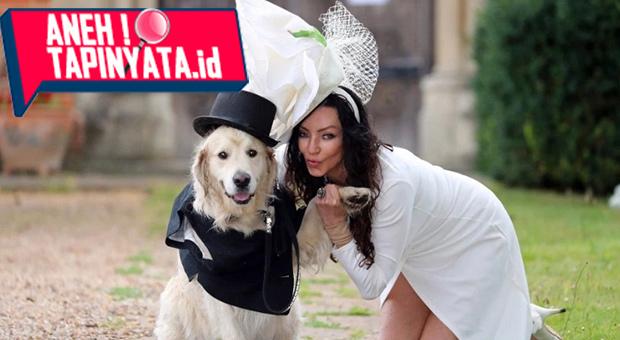 Dunia Semakin Aneh! Seorang Perempuan Yang Menikah Dengan Anjingnya